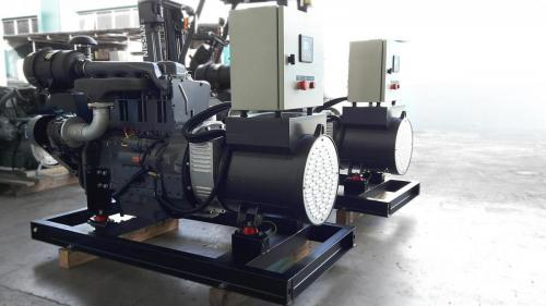 Generator with Control Panel